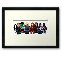 LEGO Avengers with Nick Fury Framed Print