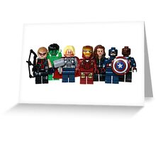 LEGO Avengers with Nick Fury Greeting Card