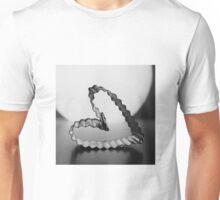 Cookie Cutter Heart Unisex T-Shirt