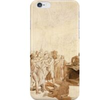 Baron Francois-Pascal-Simon Gerard - The 10th of August, 1792 iPhone Case/Skin