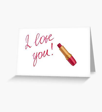 Sweet I Love You Sayings Greeting Card