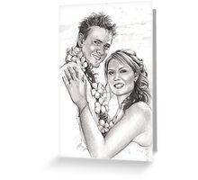 fijian wedding Greeting Card