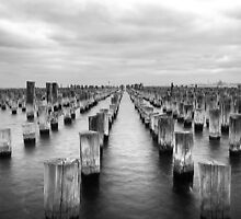 Stilts at princes pier  by joshsilver95