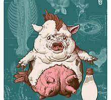 Entrée and Kewpie by Jordan Lewerissa