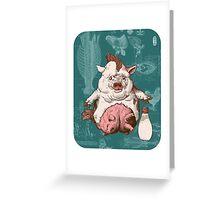 Entrée and Kewpie Greeting Card