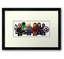 LEGO Avengers Framed Print