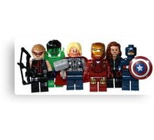 LEGO Avengers Canvas Print