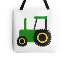 Green Tractor Design Tote Bag