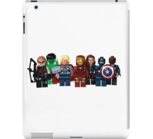 LEGO Avengers with Nick Fury iPad Case/Skin