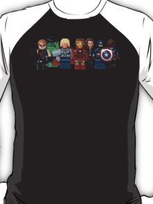 LEGO Avengers with Nick Fury T-Shirt