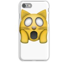 omg cat emoji iPhone Case/Skin