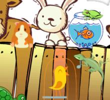 Animal Fence Sticker