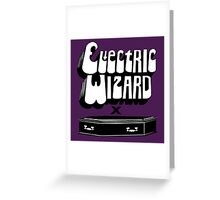 coffin Greeting Card