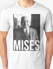 Mises Capitalism Libertarian Austrian  Unisex T-Shirt