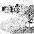 Alnwick Castle, Northumberland by GEORGE SANDERSON