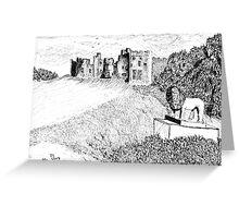 Alnwick Castle, Northumberland Greeting Card