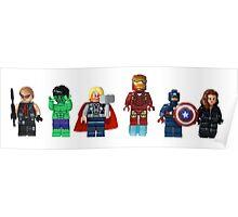 LEGO Avengers Poster