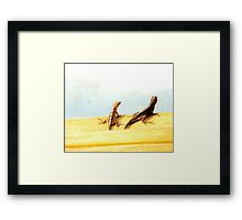 Hello Friend, how are you Framed Print
