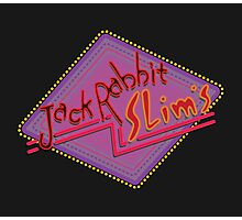 Jack Rabbit Slim's Sign Photographic Print