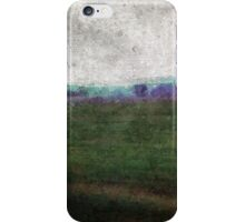 Tuscan winter landscaping iPhone Case/Skin