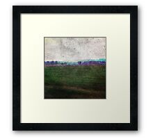 Tuscan winter landscaping Framed Print