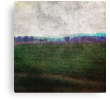 Tuscan winter landscaping Canvas Print