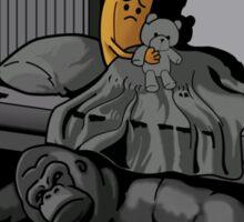 Monster under the Bed Sticker