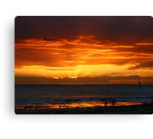 Glenelg Beach Canvas Print