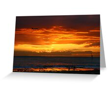 Glenelg Beach Greeting Card