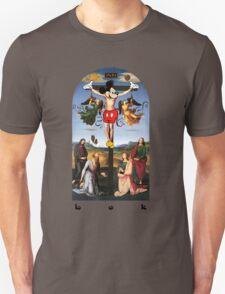 Buttress O'Kneel - Mickey Christ... Unisex T-Shirt