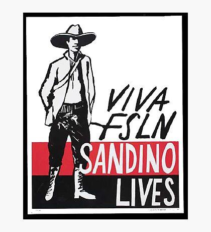 Sandino Lives! Photographic Print