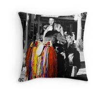 colour of the city Throw Pillow