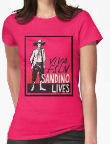 Sandino Lives! Womens Fitted T-Shirt