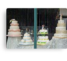 Wedding cakes Canvas Print