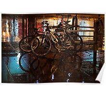 Wet Bicycles Poster