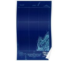 Maine USGS Historical Map Fort Kent 807494 1932 48000 Inversion Poster