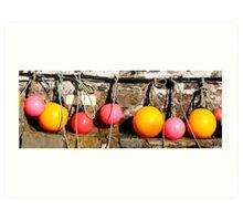 Harbour fruit. Art Print
