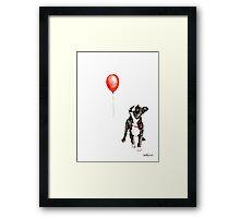 Boston Vs. Balloon Framed Print