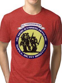 Ultramarine - Brother Tri-blend T-Shirt