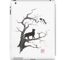Dangerous conversations sumi-e painting iPad Case/Skin