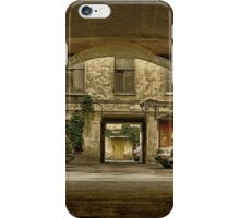 View from an archway (2) iPhone Case/Skin
