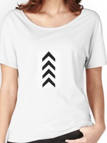 LIAM arrow tattoo Women's Relaxed Fit T-Shirt