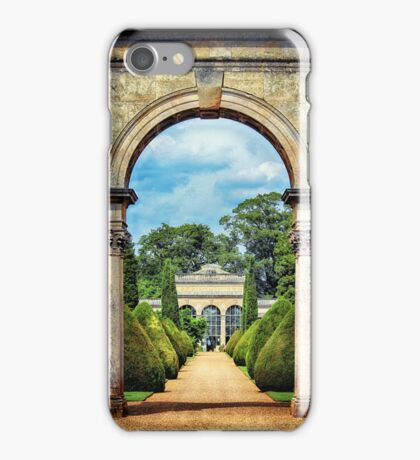 Pathway to the Orangery  iPhone Case/Skin