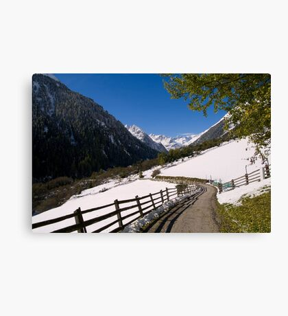 View Canvas Print