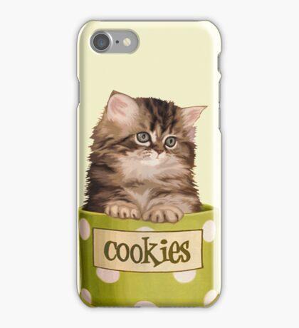 Funny Kitten iPhone Case/Skin