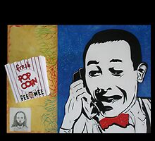 """PEE WEE HERMAN"" by MARTINMOORE"