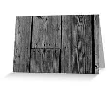 Planks Greeting Card