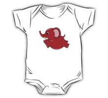 Plumpy Elephant One Piece - Short Sleeve
