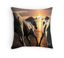 To See Unicorns Throw Pillow