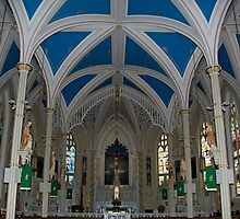 St. Mary's Basilica by Bonnie T.  Barry